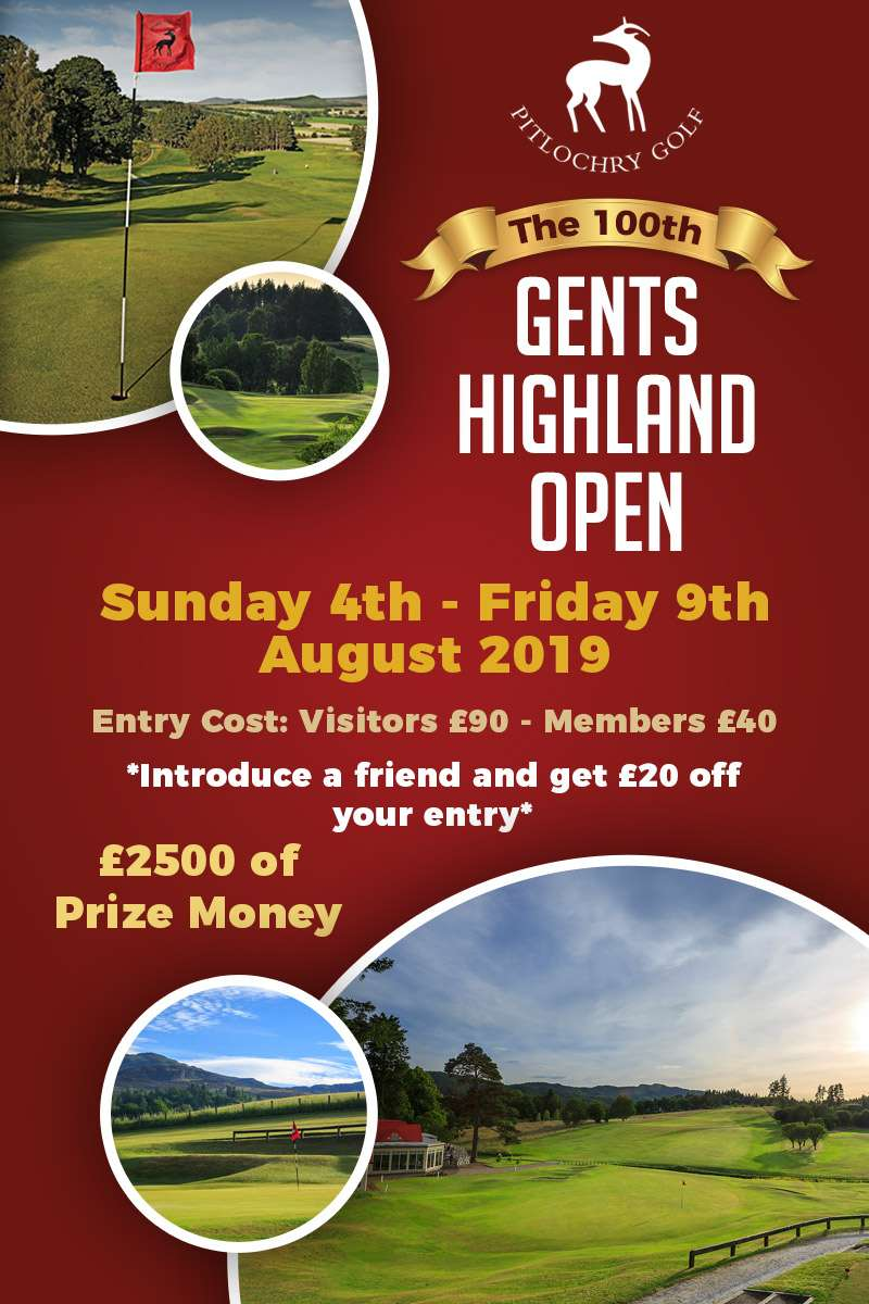Gents Highland Open