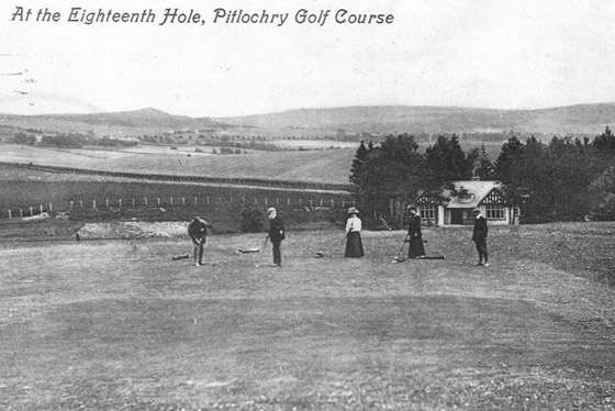 Pitlochry Golf History